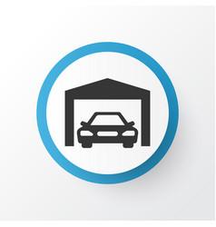 Garage icon symbol premium quality isolated vector