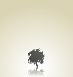 tree a background vector image