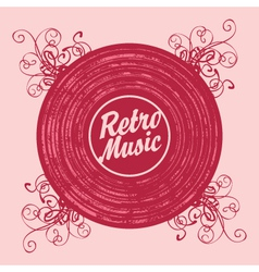Music retro vector