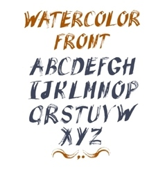 Alphabet for your design hand drawn vector