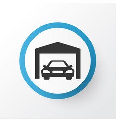 Garage icon symbol premium quality isolated vector