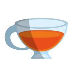 tea beverage icon image vector image