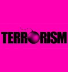 terror 1 vector image