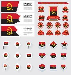 SET Angola vector image
