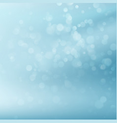 abstract blue circular bokeh eps 10 vector image vector image