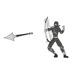 Arrow ninja attack vector