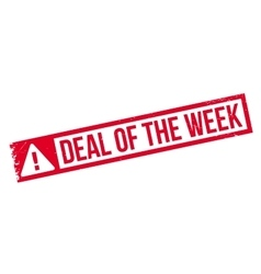 Deal Of The Week rubber stamp vector image vector image