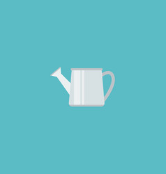 flat icon watering can element vector image vector image