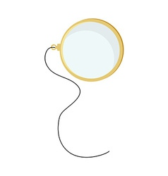 Monocle with string vector image