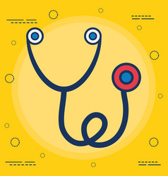 stethoscope icon imag vector image vector image