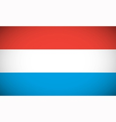 National flag of luxembourg vector