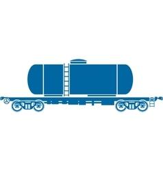 Tank Railway freight car - vector image vector image