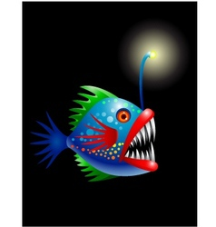 Deep Sea Fish vector image