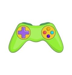 Game controller icon cartoon style vector image