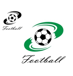 Soccer or football symbol vector