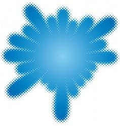 Halftone splatter vector