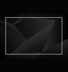 Abstract black background design vector