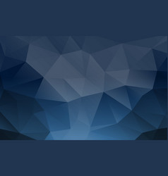 Abstract triangle geometrical background banner vector