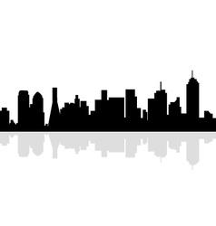 Dallas Skyline vector image vector image