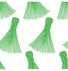 Thread tassel pattern vector