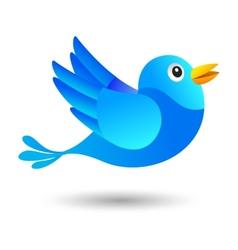 Blue bird vector