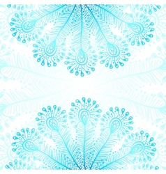 Bright rainbow peacock feathers background vector