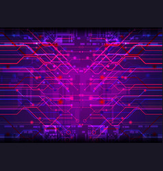 Tech digital abstract background vector