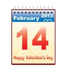 Day of valentine vector