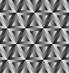 Optical with triangles vector