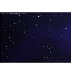 Outer space star background night sky vector