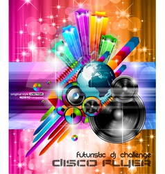 Music Club Posters vector image