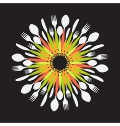 Restaurant Menu Background Template vector image vector image