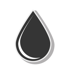Drop blood plasma design vector