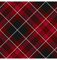 Pride of wales fabric texture red and black vector