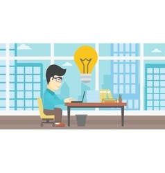 Successful business idea vector
