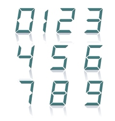 A set of numbers vector