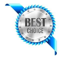 Best choice award vector