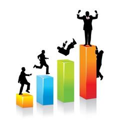 Business concept career growt vector