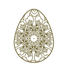 easter egg vector image