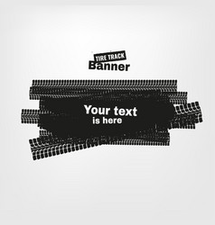 Grunge tire banners vector