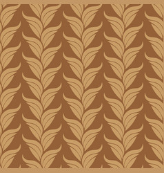 seamless abstract vintage art beige pattern vector image
