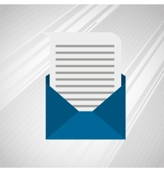 Mail icon design vector