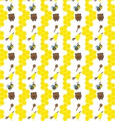 bearandbeepattern vector image