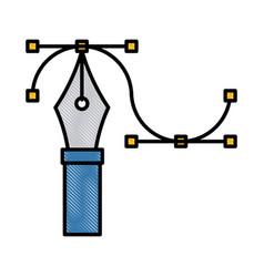 graphic design symbol vector image