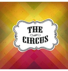 circus retro diagonal lines vector image