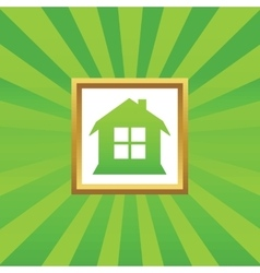 House picture icon vector
