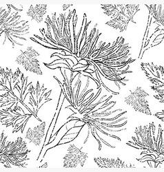 flower seamless 08 grunge vector image