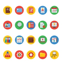 Business and finance icons 4 vector