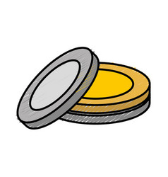 dishes icon image vector image vector image