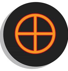 Earth symbol vector